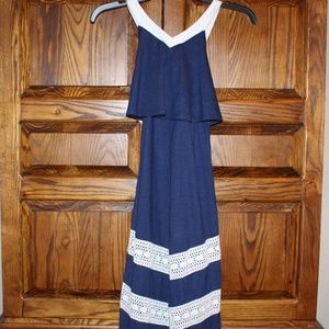 NEW Tommy Hilfiger Sleeveless Maxi Dress Girls 7